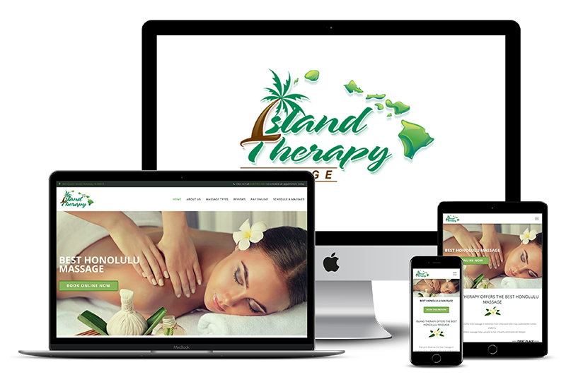 Island Therapy - Web design